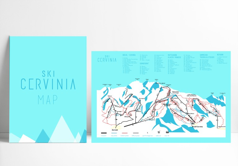 map mock up